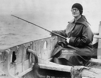 Elisabeta pescuind