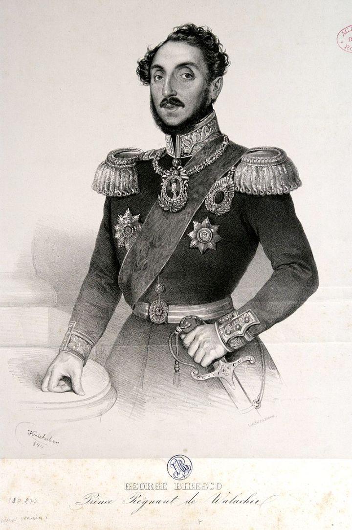 Prince_régnant_de_Walachie_-_George_Bibesco